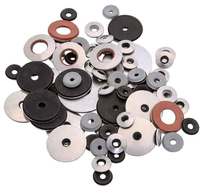 Master Seal Aluminum Bonded Washers