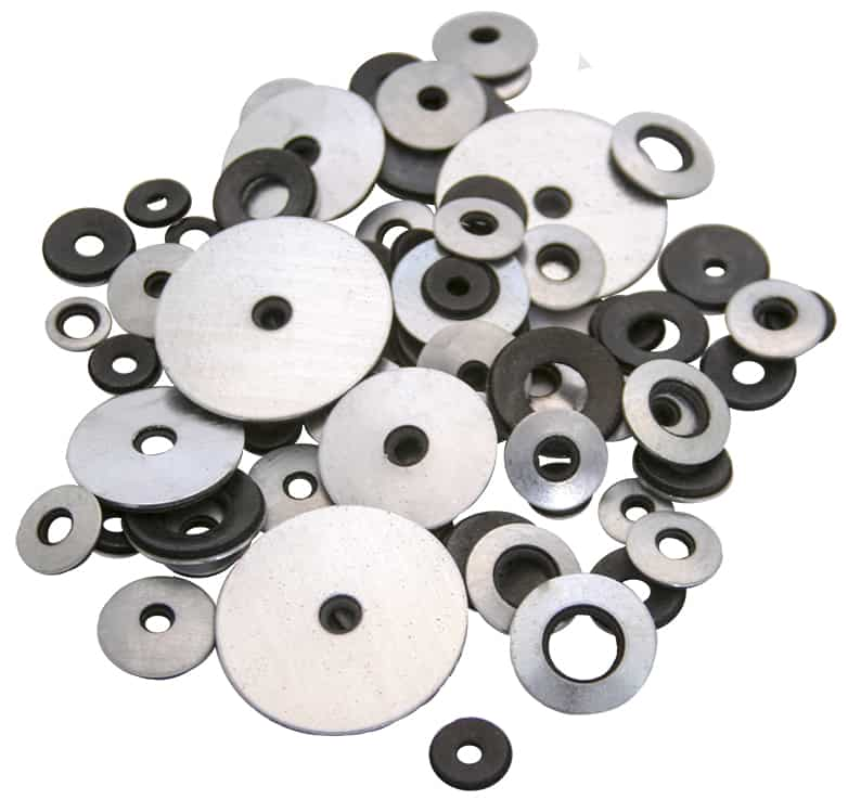 Master Seal Galvanized Steel Bonded Washers